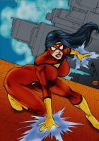 Spider-Woman 2 by Blindman-CB