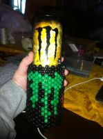 Monster Energy Can Reveled! by Wolffy5683