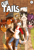 Our Tails Issue 1 cover by FattCat