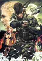 MGS3: Snake Eater by NCYM