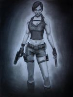 Lara Croft: Tomb Raider by PolishPsycho
