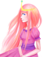 Princess Bubblegum by poichigeon