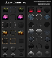 Base Icons for android #1 by anulubi