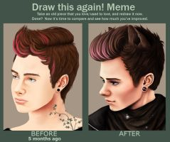 Kurt: Before and after by kursons