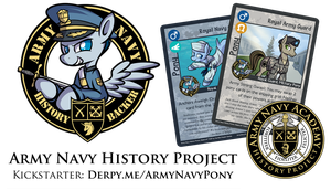 Support the Army Navy History Book Project by SouthParkTaoist