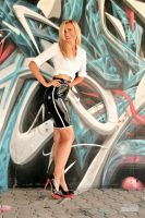 Danca Black Skirt White Blouse 02 by malkiss
