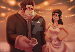 King and Queen of Sugar Rush! by Alisi-Christine