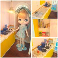 Puppen haus kitchen by LittlestSweetShop