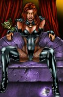 Goblin Queen Colored by LilyeXile