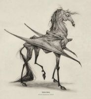 Thestral by AudreyBenjaminsen