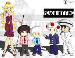 Peach Hit Five: Alt Rock by DeadPhoenX