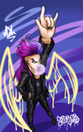 The Punk Angel by FrostPuppy96