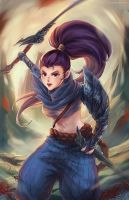 Girl!Yasuo by FalseDelusion