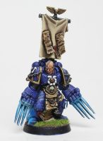 Ultramarine's Captain With Lightning Claws by jstncloud