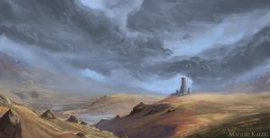 Autumn Highlands by Narholt