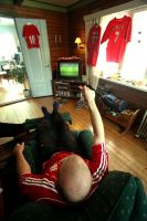 Liverpool supporter by AndySimmons