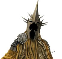 LotR : The Witch-King by Tyelca