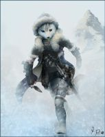Ermine Assassin. by FuzzleMint