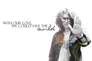 Beatle Quote Wallpaper: George by hailingxjove