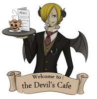 the Devil's Cafe of Halloween Town by Ethai