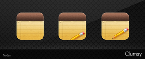 Clumsy Notes Icons by Noceat