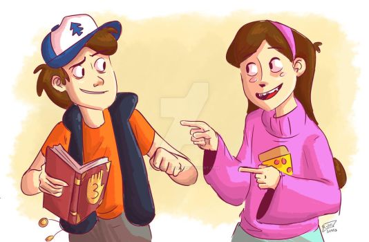 Gravity Falls Feels by animegirl43