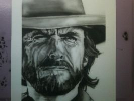 Clint Eastwood as Jose Wales by NeDrawMas