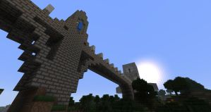 Bridge to the Tower by quantumdylan