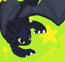 HTTYD-Toothless by StarOblivion