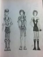 Moar Outfits by Cafante