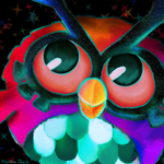 Pokemon Advent Challenge Day 3-Hoothoot by Mokka-Quill