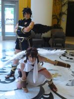 Pit and Dark Pit [Kid Icarus] by snoPuppy250