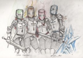 DaD 6-26-11 Castle Crashers by steevinlove