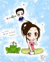 Prince Froggy and meee by bommie