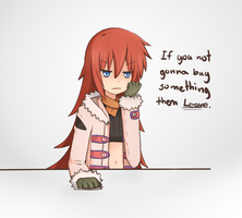 ...then leave. by Misaka-Chan