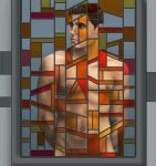 What the Stained Glass Reveals by Calcitrix