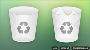 Trash Icon by BluPaper