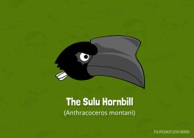 The Sulu Hornbill by Filipeanuts