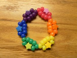 Rainbow Star Double by Sylladis-Kandi-Shop