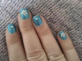 Nailartbluehawaii by CarpeComma