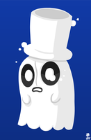Napstablook by Wazzaldorp