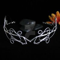 The Silver Branch Circlet by camias
