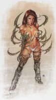 witchblade by keucha