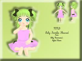 MMD Newcomer - Baby Gumilia Glassred by Bokeol