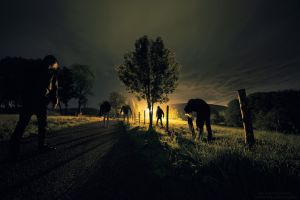 The Walking Dead by FlorentCourty