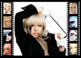 Lady Gaga Filmstrip by Mistify24