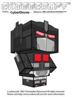 Cubeecraft- Nemesis Prime 'G1' by CyberDrone