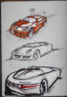 porsche thumbnailsketches 0609 by ecco666