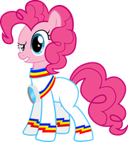 Pinkie Pie- Rainbolt Flight Suit by Karson-Rotek