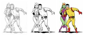 Space Rangers by scottygod